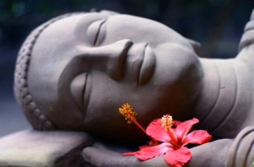 sleeping-buddha-with-flower