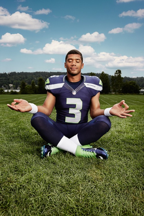 Russell Wilson July 29, 2013Photographed by Peter yang